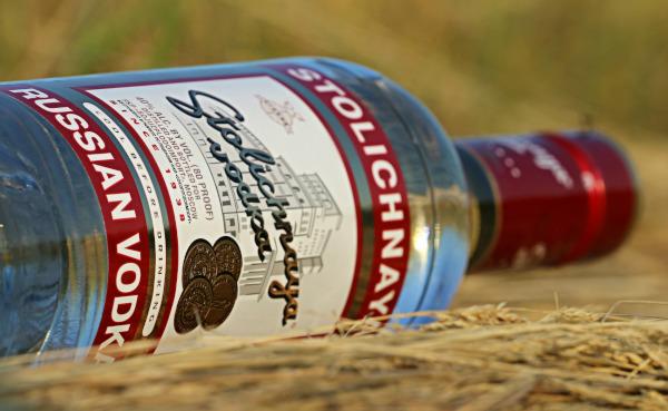 В России снизились продажи водки
