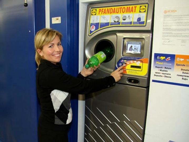 Автоматы по приему бутылок появятся в России