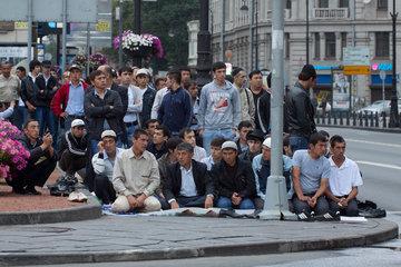 В Москве начались гулянья посвященные празднику Ураза-байрам