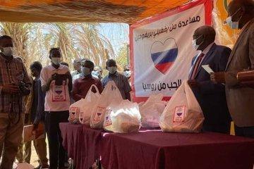 Граждане Судана оценили продовольственную помощь от российского бизнесмена Пригожина